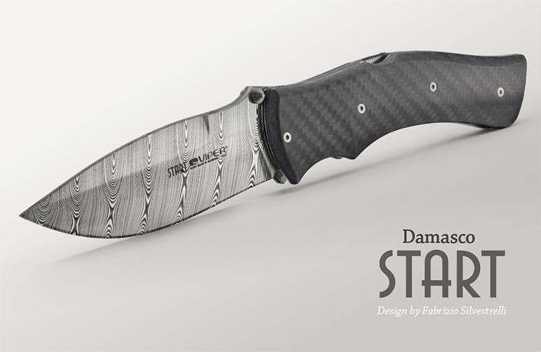 Viper Start Damasco Knife